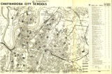Chattanooga city schools map, 1968