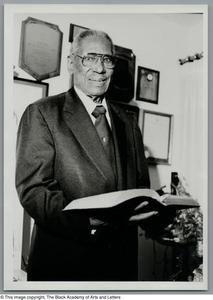 [Portrait of Arthur Vance Voice] Dallas/Fort Worth Black Living Legends Dallas/Fort Worth Black Living Legends, 1996