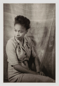 Margaret Walker, from the portfolio 'O, Write My Name': American Portraits, Harlem Heroes