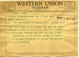 Ministers of the United Church of Christ to James Meredith (Undated)