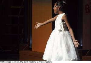 [Young Girl Performing on Stage] Hip Hop Broadway: The Musical