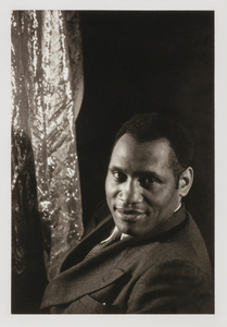 Paul Robeson, from the portfolio 'O, Write My Name': American Portraits, Harlem Heroes