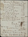 Charles B. Johnson correspondence, business records and receipts, 1860
