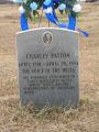 Holly Ridge Cemetery: Charley Patton grave